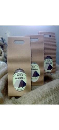 Horká čokoláda – lískový oříšek